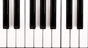 tastiera di un pianoforte