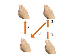 il movimento 2-4 suddiviso